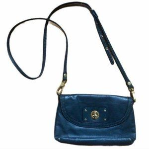 Marc Jacobs Leather Crossbody Small Buckle Bag